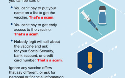 Scammers Abound – Episode #13: Covid-19 Vaccine Scams